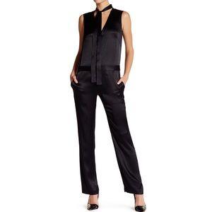 Rag & Bone Lois Tie Neck Jumpsuit Size 2